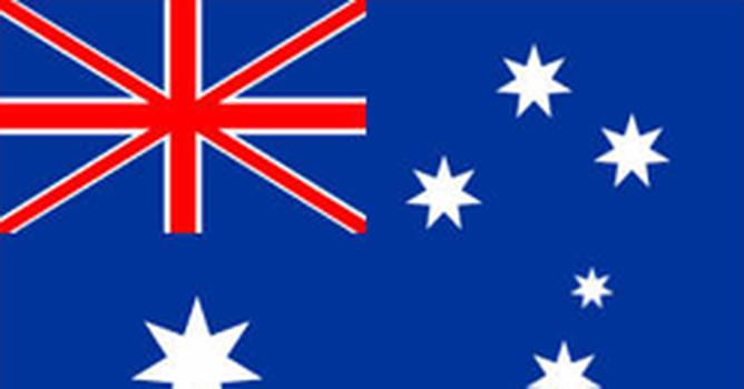 Bandeira do país Austrália