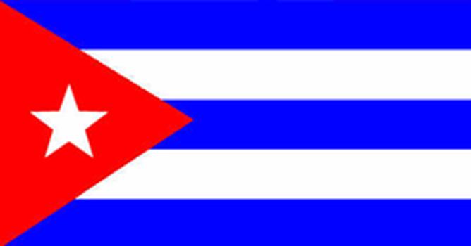 Bandeira do país Cuba