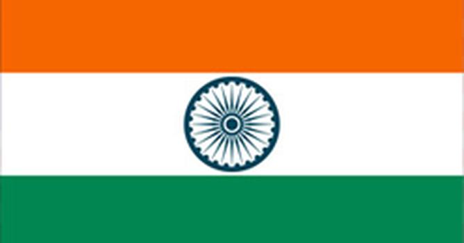 Bandeira do país �ndia